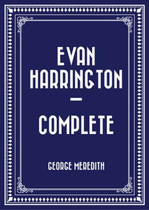 Evan Harrington - Complete