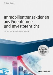Immobilientransaktionen aus Eigentümer- und Investorensicht - inkl. Arbeitshilfen online
