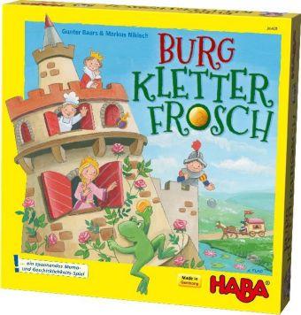 Burg Kletterfrosch (Kinderspiel)