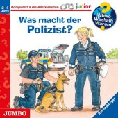 Was macht der Polizist?, 1 Audio-CD Cover