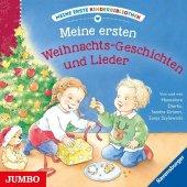 Meine erste Kinderbibliothek. Meine ersten Weihnachts-Geschichten und Lieder, 1 Audio-CD Cover