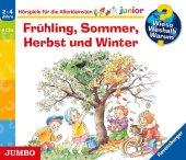 Wieso? Weshalb? Warum? junior. Frühling, Sommer, Herbst und Winter, 4 Audio-CDs