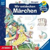 Wir entdecken Märchen, 1 Audio-CD Cover