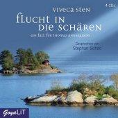 Flucht in die Schären, 4 Audio-CDs Cover