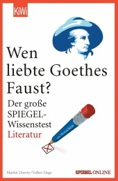 Wen liebte Goethes 'Faust'?