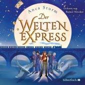 Der Welten-Express, 4 Audio-CDs Cover