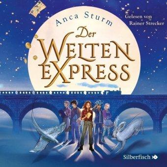 Der Welten-Express, 4 Audio-CDs