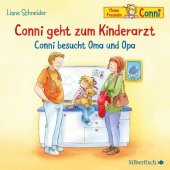 Conni geht zum Kinderarzt / Conni besucht Oma und Opa, 1 Audio-CD Cover