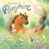 Ponyherz wird ein Star, 1 Audio-CD Cover