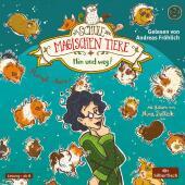 Die Schule der magischen Tiere, Hin und weg!, 2 Audio-CDs Cover