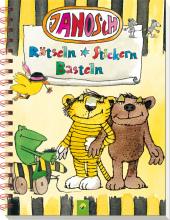 Janosch - Rätseln Stickern Basteln Cover