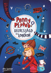 Penny Pepper - Diebesjagd in London Cover