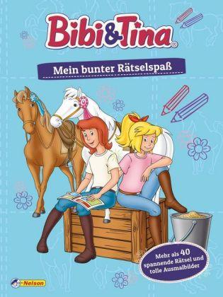 Bibi Tina Mein Bunter Rätselspaß 9783845111599 Bücher