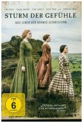 Sturm der Gefühle - Das Leben der Brontë Schwestern, 1 DVD Cover