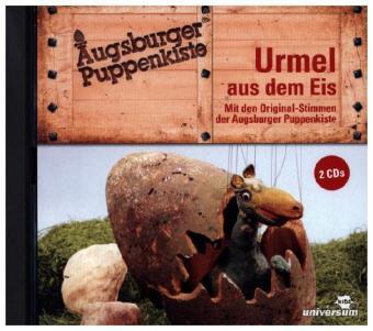 Augsburger Puppenkiste: Urmel aus dem Eis - Hörspiel, 2 Audio-CD