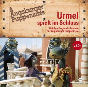 Augsburger Puppenkiste: Urmel spielt im Schloss- Hörspiel, 2 Audio-CD