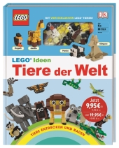 LEGO Ideen Tiere der Welt - Tiere entdecken und bauen Cover