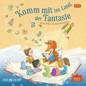 Komm mit ins Land der Fantasie, 4 Audio-CDs Cover