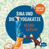 Kids in Balance. Sina und die Yogakatze, 1 Audio-CD Cover