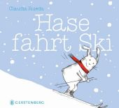 Hase fährt Ski Cover