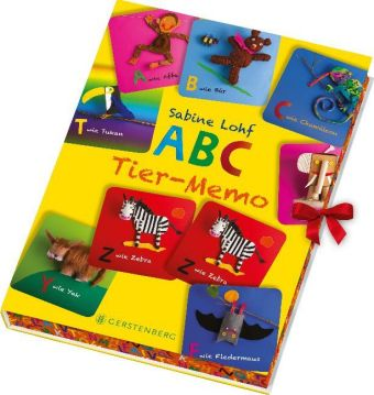 ABC-Tier-Memo (Kinderspiel)