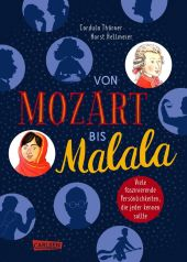 Von Mozart bis Malala - Allgemeinwissen für Kinder Cover
