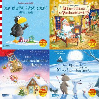 Winterzeit mit Maxi Pixi, 4 Hefte