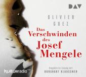 Das Verschwinden des Josef Mengele, 5 Audio-CDs Cover