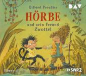 Hörbe und sein Freund Zwottel, 1 Audio-CD Cover