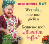Wer erbt, muss auch gießen / Kennense noch Blümchenkaffee?, 4 Audio-CDs Cover