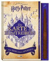 Harry Potter: Die Karte des Rumtreibers, m. Zauberstab