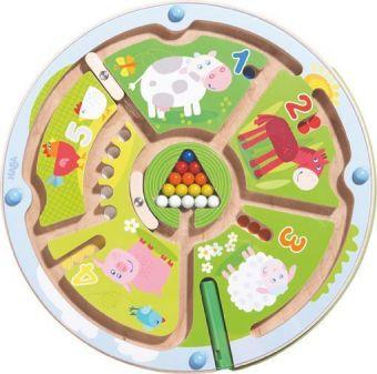 Magnetspiel Zahlenlabyrinth (Kinderspiel)