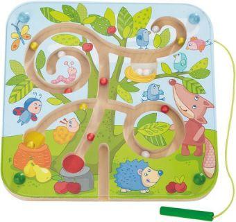 Magnetspiel Baumlabyrinth (Kinderspiel)