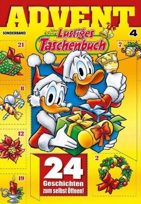 Lustiges Taschenbuch Advent Walt Disney 9783841335135 Bücher
