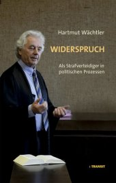 Widerspruch Cover