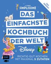Simplissime - Das einfachste Kochbuch der Welt: Disney Cover