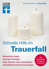 Schnelle Hilfe im Trauerfall Cover