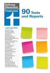 Finanztest Jahrbuch 2019 Cover