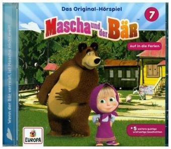 Mascha und der Bär - Auf in die Ferien, 1 Audio-CD