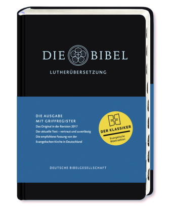 Die Bibel, Lutherbibel revidiert 2017 - Ausgabe mit Griffregister
