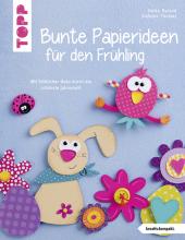 Bunte Papierideen für den Frühling Cover