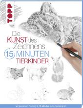 Die Kunst des Zeichnens 15 Minuten - Tierkinder Cover
