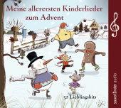 Meine allerersten Kinderlieder zum Advent, 1 Audio-CD Cover