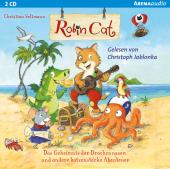 Robin Cat - Das Geheimnis der Drachennasen und andere katzenstarke Abenteuer, 1 Audio-CD Cover
