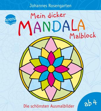 Mein Dicker Mandala Malblock Die Schönsten Ausmalbilder Produkt