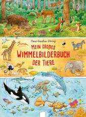 Mein großes Wimmelbilderbuch der Tiere Cover