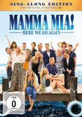 Mamma Mia! 2 - Here We Go Again, 1 DVD