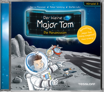 Der kleine Major Tom - Die Mondmission, 1 Audio-CD