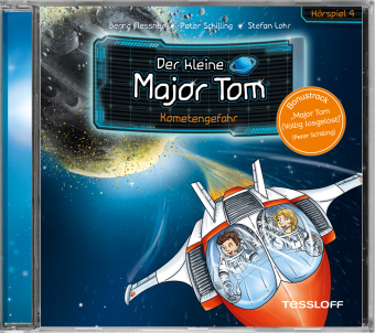 Der kleine Major Tom - Kometengefahr, 1 Audio-CD