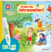 Was ist was Kindergarten: Erlebe die Jahreszeiten! Cover